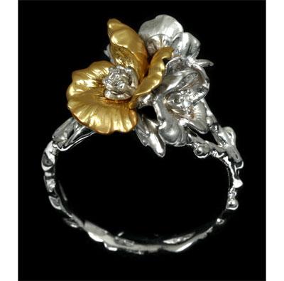 Золотое кольцо Ювелирное изделие 11300