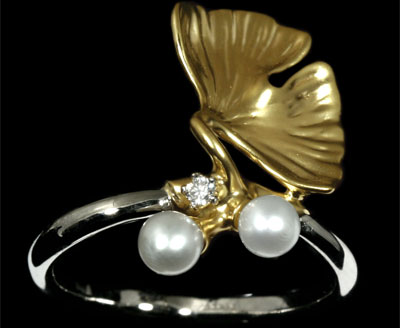Золотое кольцо Ювелирное изделие 11340