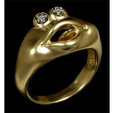 Золотое кольцо Ювелирное изделие 11370
