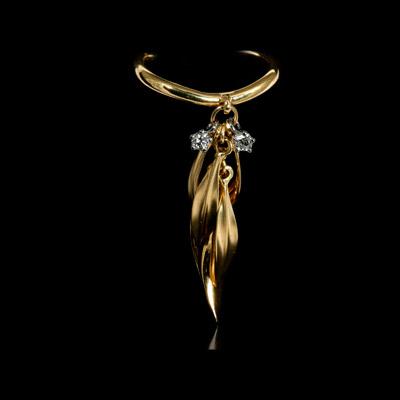 Золотое кольцо Ювелирное изделие 11390