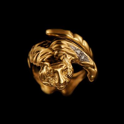 Золотое кольцо Ювелирное изделие 11550