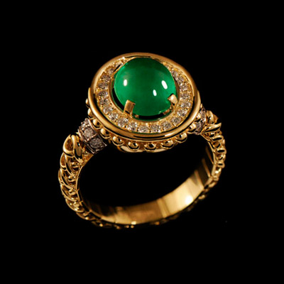 Золотое кольцо Ювелирное изделие 11710