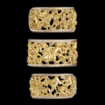 Золотое кольцо Ювелирное изделие 11720