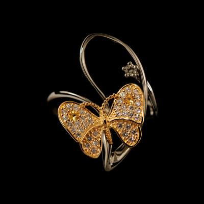 Золотое кольцо Ювелирное изделие 11780