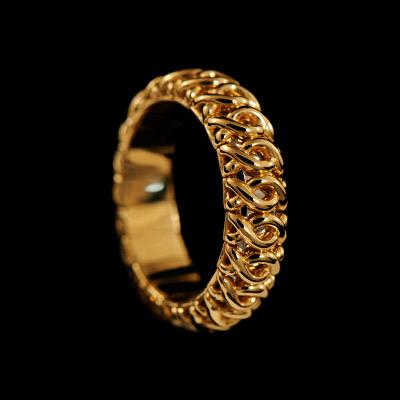 Золотое кольцо Ювелирное изделие 11810