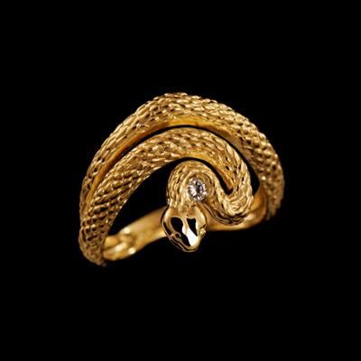 Золотое кольцо Ювелирное изделие 12070