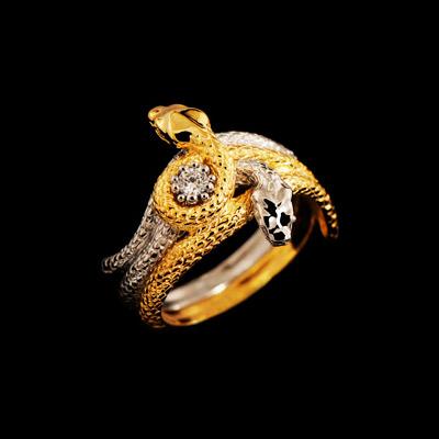 Золотое кольцо Ювелирное изделие 12090
