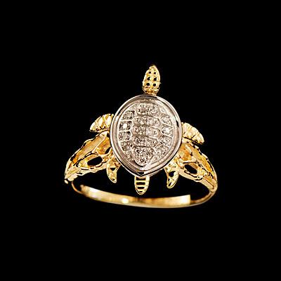 Золотое кольцо Ювелирное изделие 12130