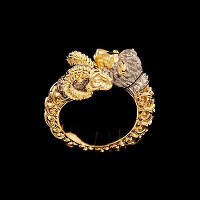 Золотое кольцо Ювелирное изделие 12180