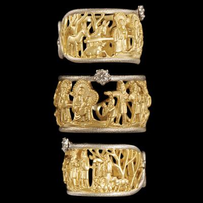 Золотое кольцо Ювелирное изделие 12450