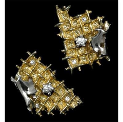 Золотые серьги Ювелирное изделие 20060