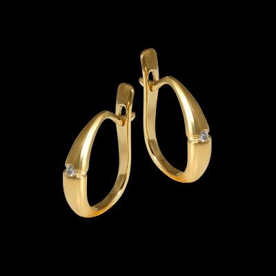 Золотые серьги Ювелирное изделие 20850