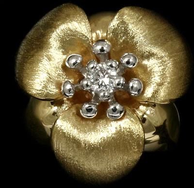 Золотые серьги  Ювелирное изделие 20980