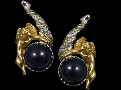 Золотые серьги Ювелирное изделие 21220