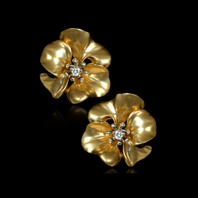 Золотые серьги Ювелирное изделие 21313