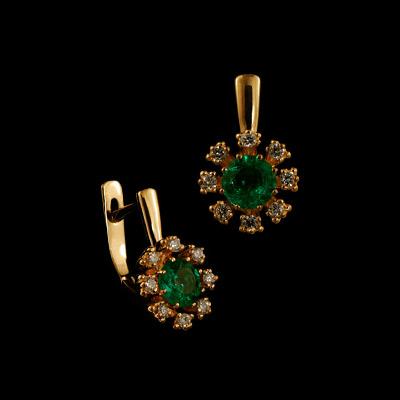 Золотые серьги Ювелирное изделие 21450 золотые серьги в харькове