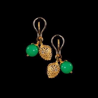 Золотые серьги Ювелирное изделие 21860 золотые серьги в харькове