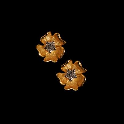 Золотые серьги Ювелирное изделие 21880 clubseta мужской фиолетовый галстук слегка переливается clubseta 7983