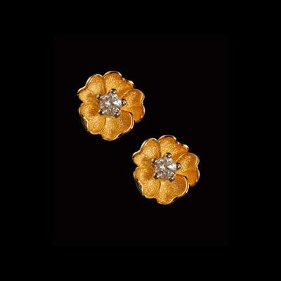 Золотые серьги Ювелирное изделие 21890