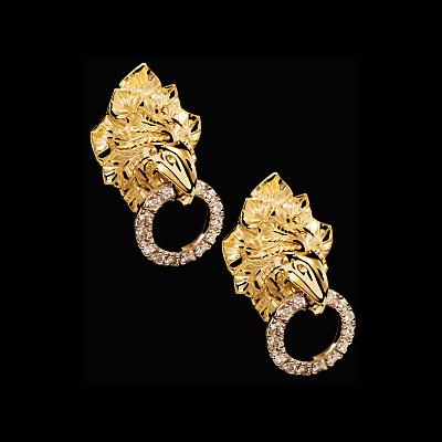 Золотые серьги Ювелирное изделие 22190 золотые серьги ювелирное изделие 113713