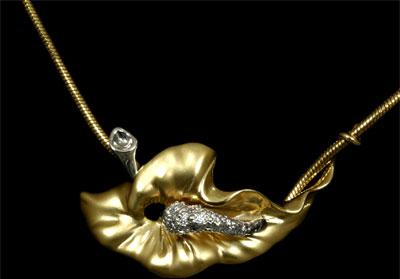 Золотой подвес  Ювелирное изделие 31290