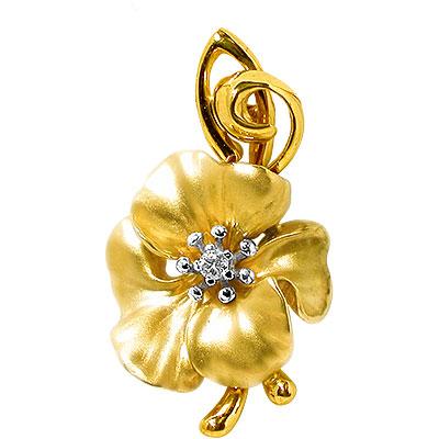 Золотой подвес Ювелирное изделие 31313 бандаж ecosapiens es cabk 5 на колено медицинский согревающий с шерстью верблюда размер xl 46 50 серый