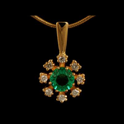 Золотой подвес Ювелирное изделие 31450