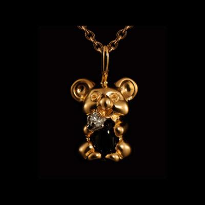 Золотой подвес Ювелирное изделие 31472