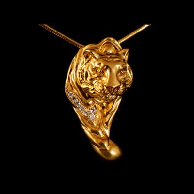 Золотой подвес Ювелирное изделие 31550