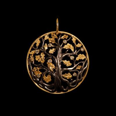 Золотой подвес Ювелирное изделие 31570