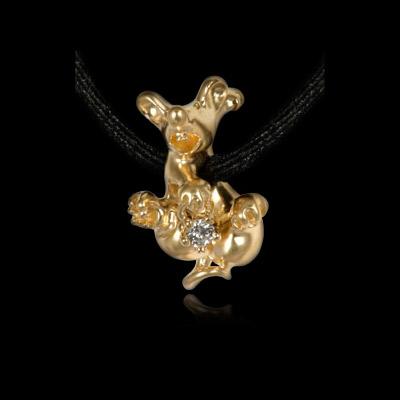 Золотое колье Ювелирное изделие 40320