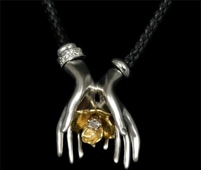 Золотой подвес Ювелирное изделие 41150