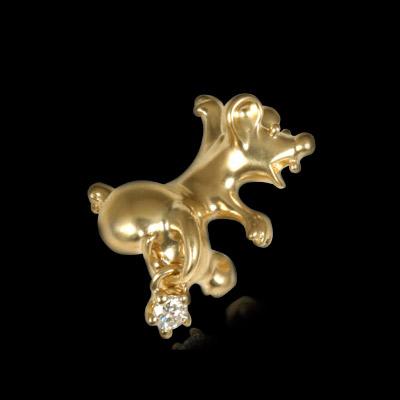 Золотая брошь Ювелирное изделие 60320