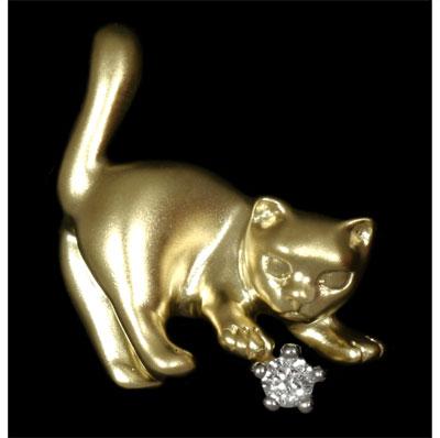 Золотая брошь Ювелирное изделие 60520