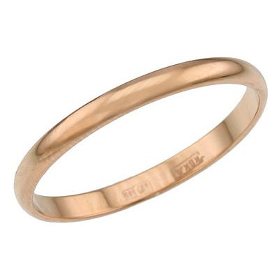 Ювелирное изделие 14000033 кольцо стальное традиционное узкое