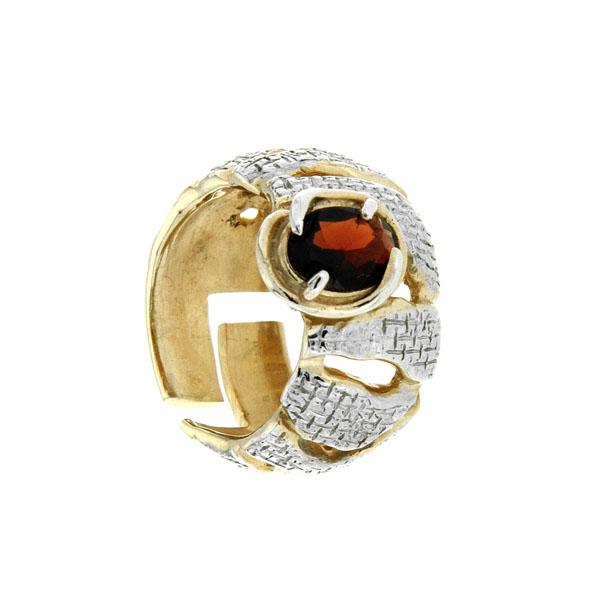 Серебряное кольцо Ювелирное изделие 1085g