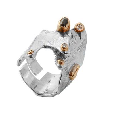 Серебряное кольцо Ювелирное изделие 1103s