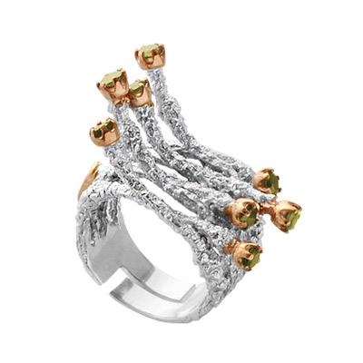 Серебряное кольцо Ювелирное изделие 1131h