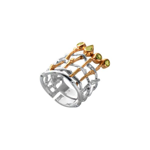 Серебряное кольцо Ювелирное изделие 1165h