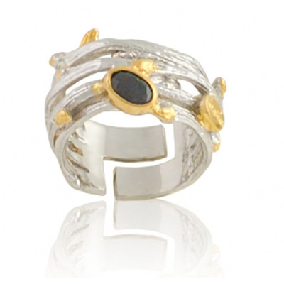 Серебряное кольцо Ювелирное изделие 1196s ювелирные кольца karmonia авторское серебряное кольцо с камнями рубин сапфир