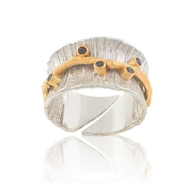 Серебряное кольцо Ювелирное изделие 1239sh