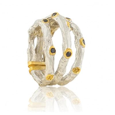 Серебряное кольцо Ювелирное изделие 1250sh