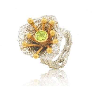 Серебряное кольцо Ювелирное изделие 1271h