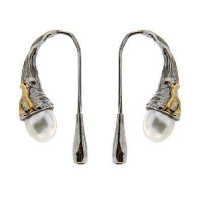 Серебряные серьги Ювелирное изделие 2095j