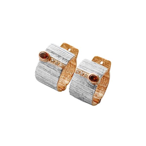 Серебряные серьги Ювелирное изделие 2100g