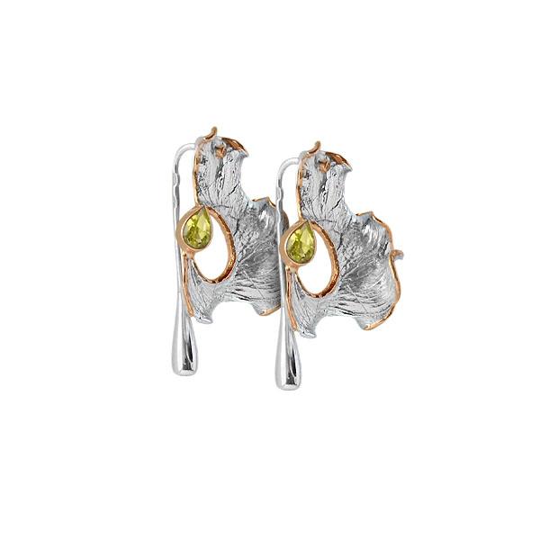 Серебряные серьги Ювелирное изделие 2105h 2015 моды крюк уха gekkonidae ящерица горячей продажи серьги стержня популярные