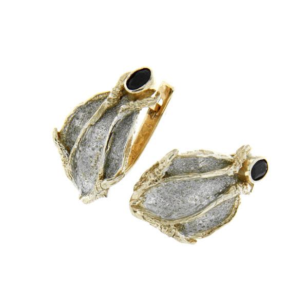 Серебряные серьги Ювелирное изделие 2106s цена 2017