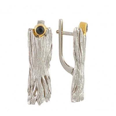 Серебряные серьги Ювелирное изделие 2121rt