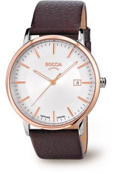 Boccia Часы Boccia 3557-04. Коллекция 3000 Series michael kors collection платье длиной 3 4