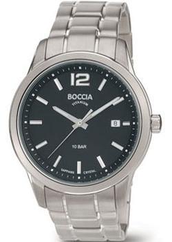 Boccia Часы Boccia 3581-01. Коллекция Titanium boccia часы boccia 3599 01 коллекция titanium